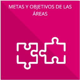 Las metas y objetivos de las áreas de conformidad con sus programas operativos